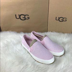 New UGG Women's Pink Bren Sneaker Size 8